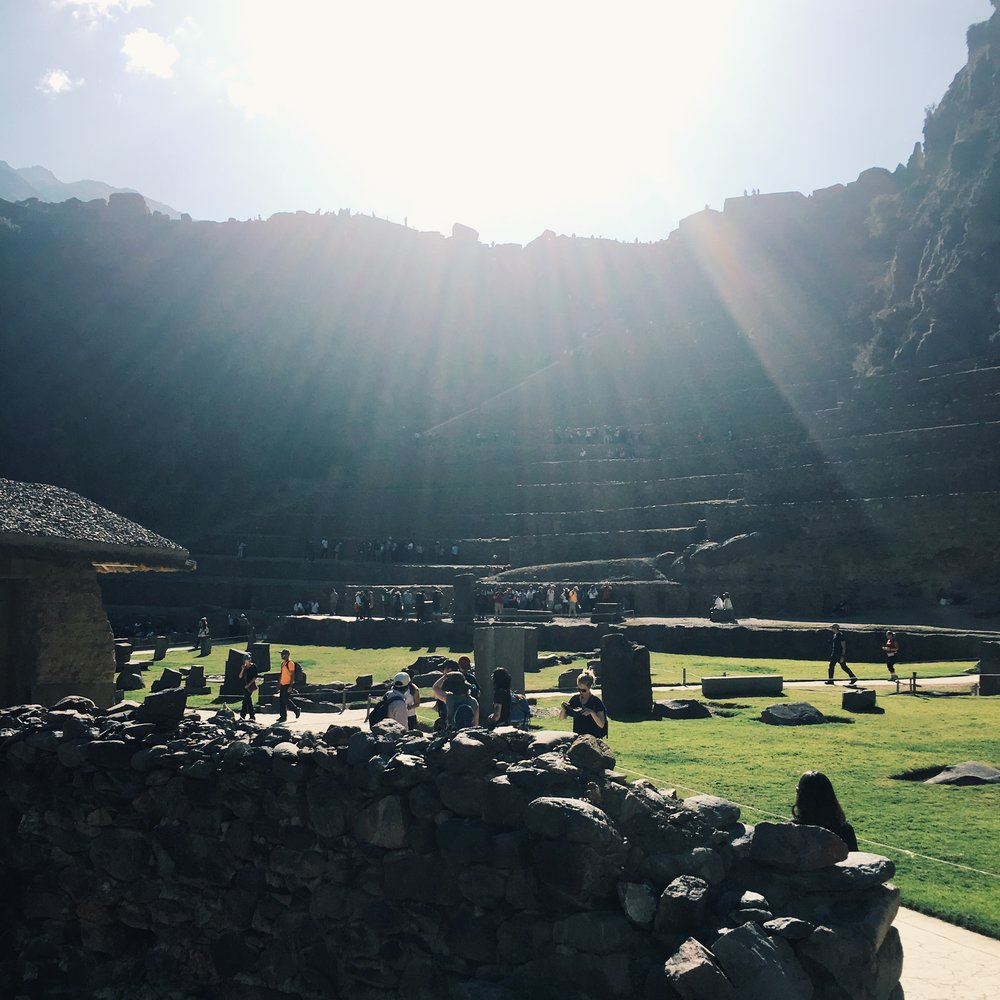 Ollantaytambo - before the train ride to Aguas Calientes