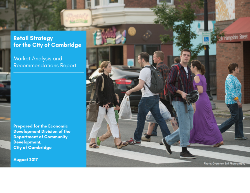 Retail Strategy for the City of Cambridge