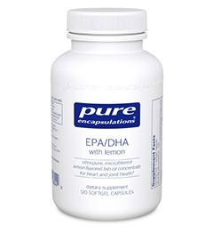 Support your joints and boost your mood with EPA/DHA with lemon.