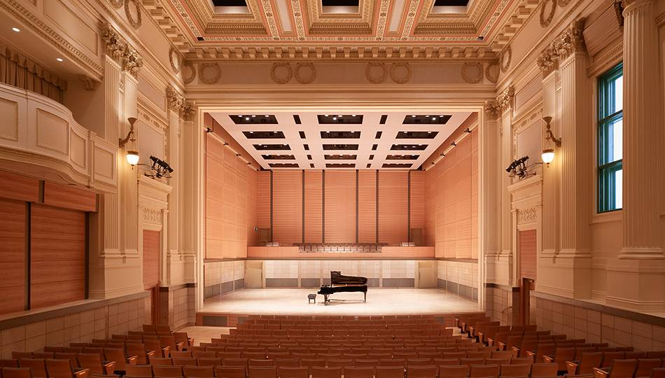 San Francisco Conservatory of Music - Caroline H. Hume Concert Hall