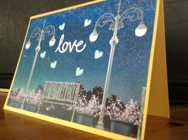 Starry Night Gold Card (Many colors available)