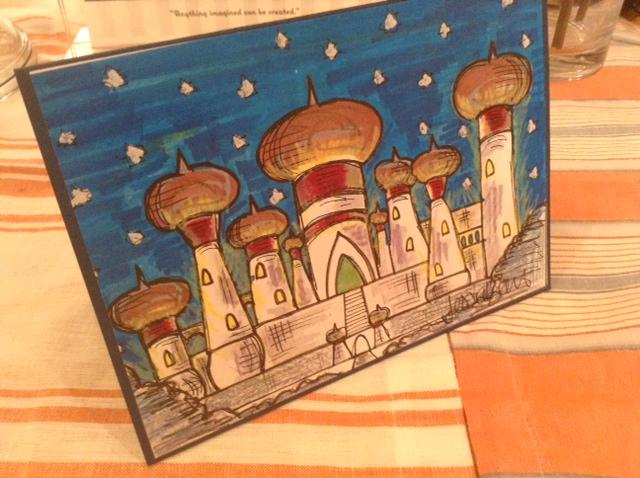 Fairy Tale Aladdin Card