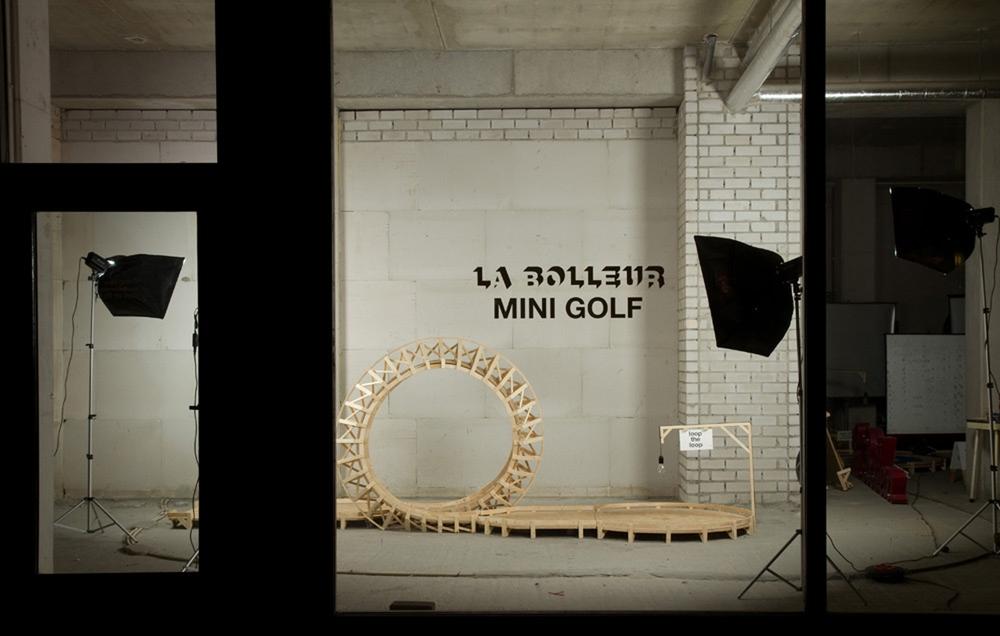 Mini Golf © La Bolleur, 2009