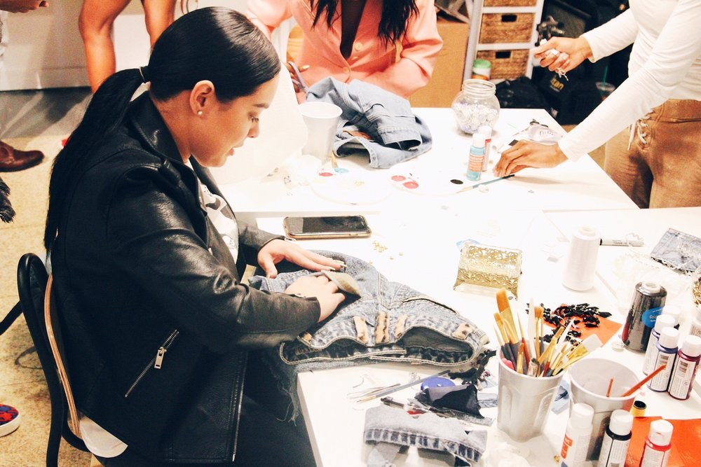 Art Basel Miami Denim Bandit Workshop