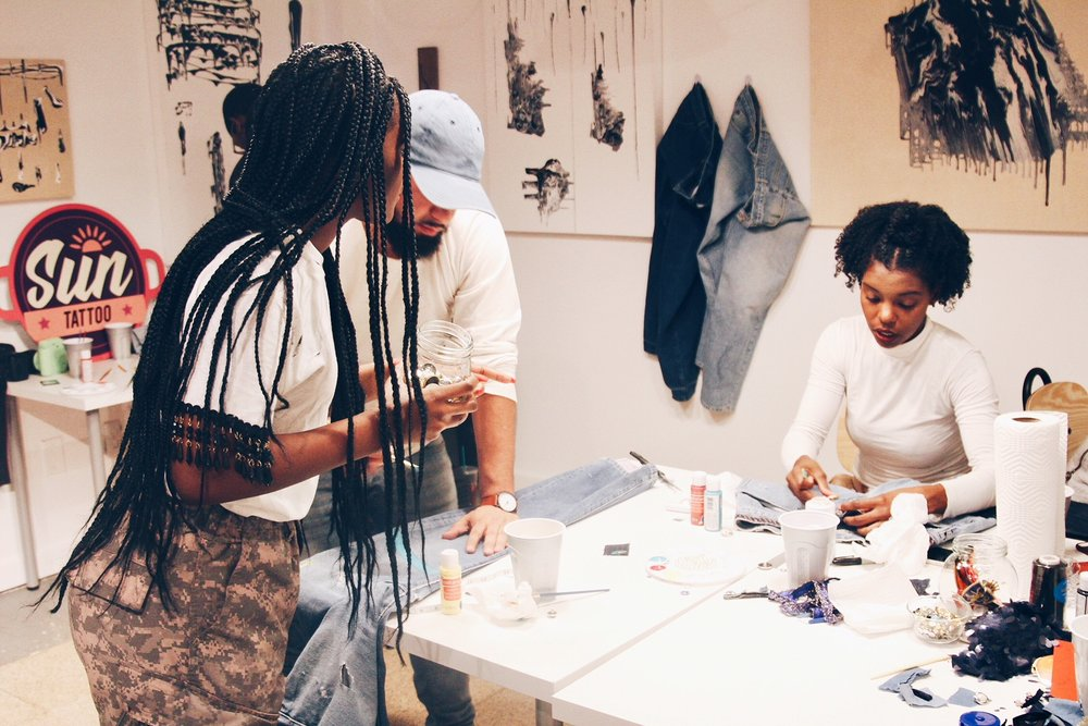 Tasheema Felder, Stylist, Consultant, Denim Bandit Workshop