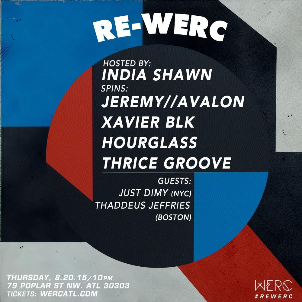 rewerc india shawn dj hourglass