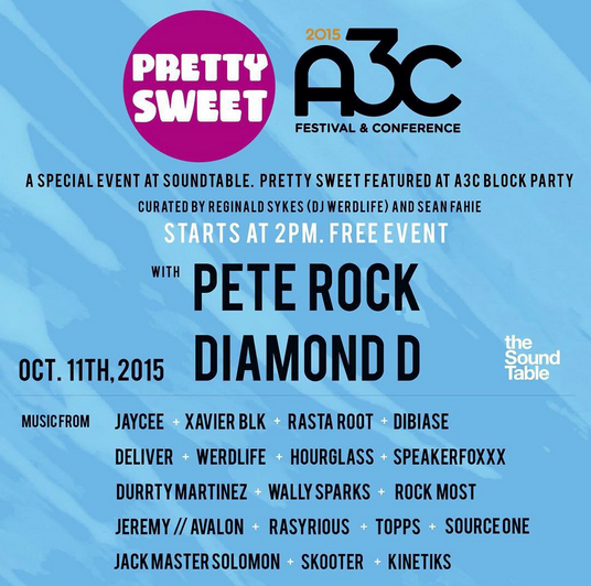 dj hourglass pretty sweet a3c pete rock