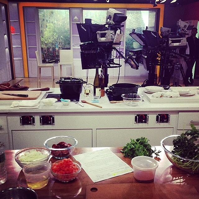Here we go @todayshow @geomendes!