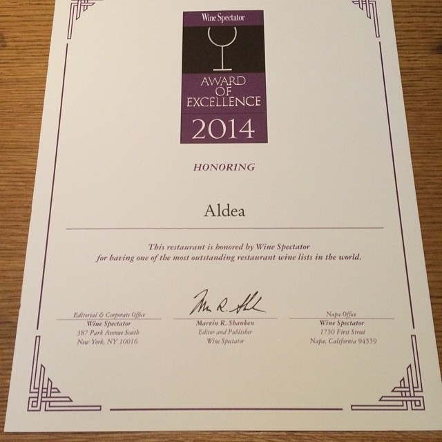 We did it! So happy. Thank you@winespectator