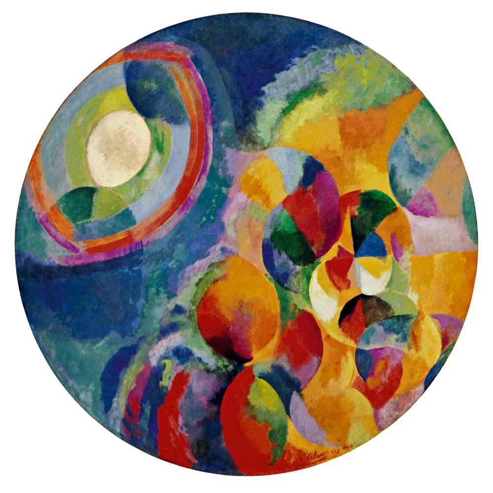 Robert Delaunay (French, 1885–1941). Simultaneous Contrasts: Sun and Moon. 1913