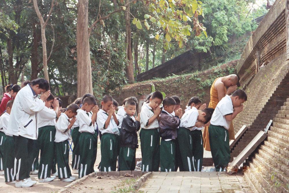 Wat Umong ,  Chaing Mai, Thailand  | November 2003