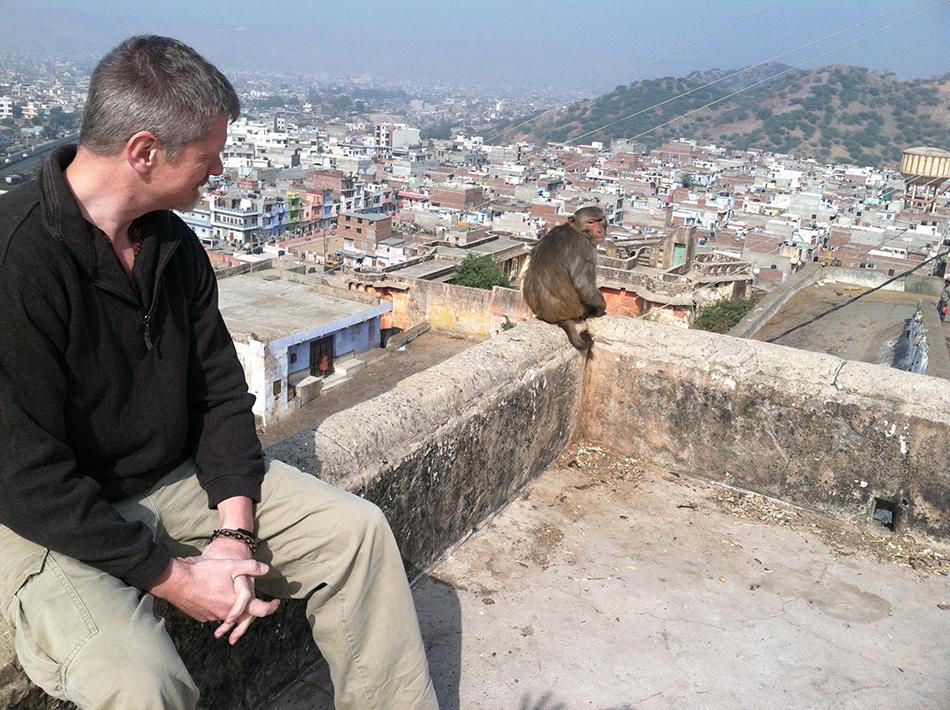 Michael Kimball, Galtaji, Jaipur, India 2013