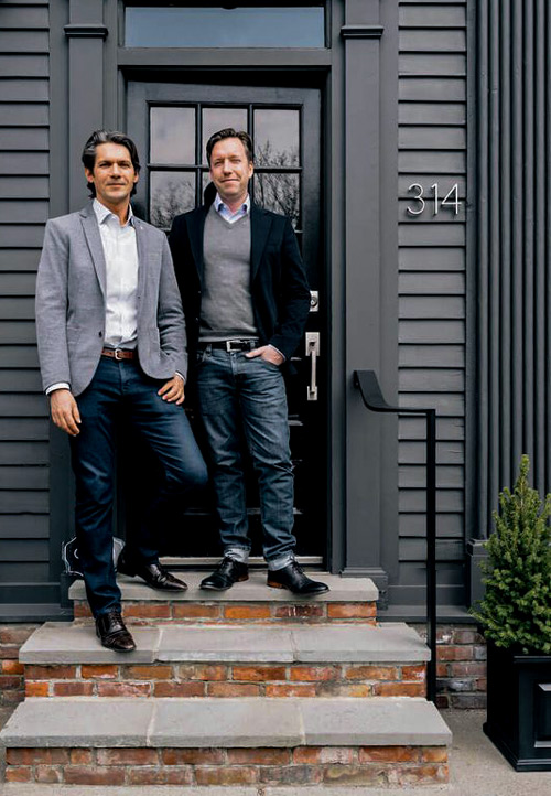 Founders, Robert Dobay and Christopher Draghi photo:Allie Leepson
