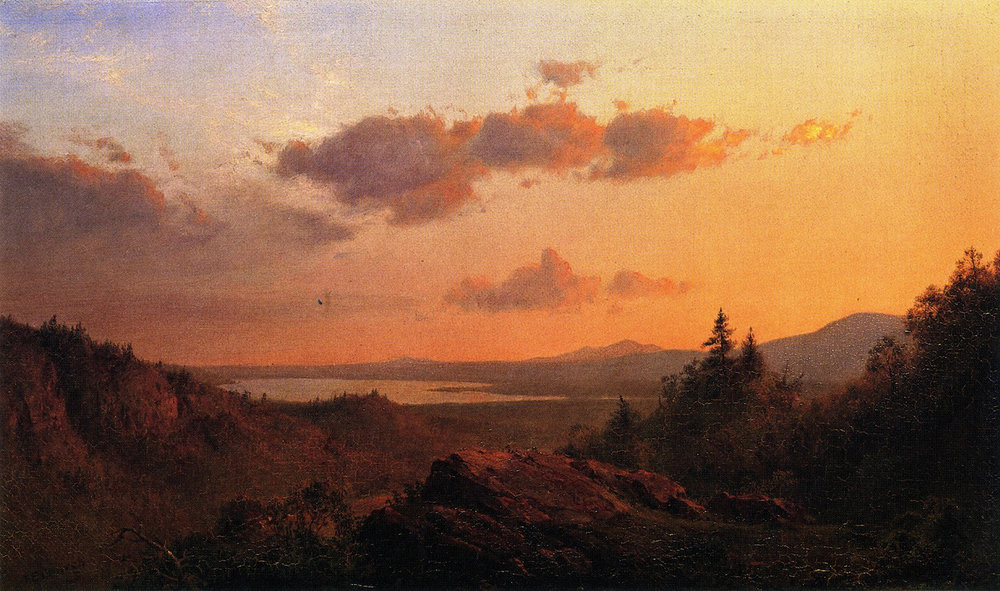 View of the Hudson River from Olana, Frederic Church