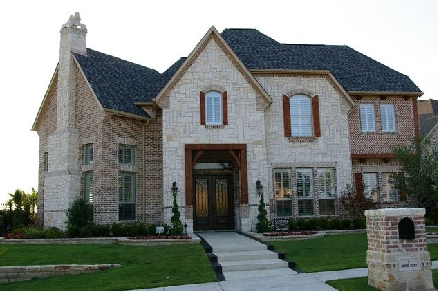To buff or not to buff brick mortar speaks in colors for Mixing brick and stone exterior