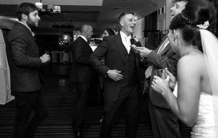 Wedding Reaction - Magician in Liverpool