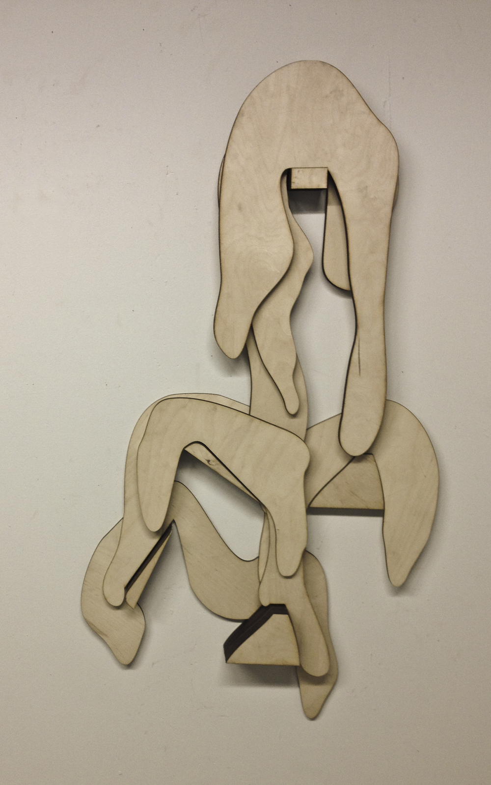 Plywood drips