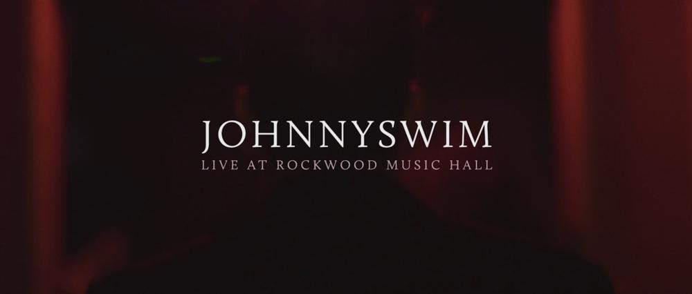 Johnny Swim - Live At Rockwood Music Hall