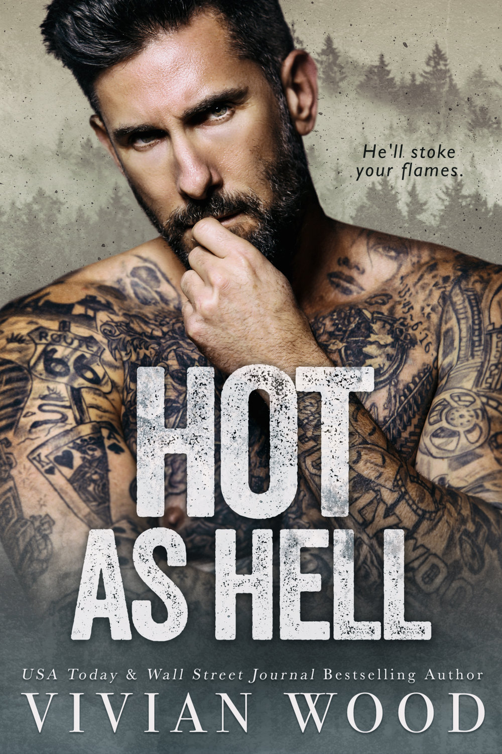 Hot As Hell - A Second Chance Firefighter Romance