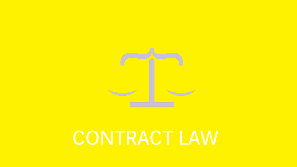 Offer & Agreement  Consideration, Promissory Estoppel & Duress  Privity  Terms  Misrepresentation  Undue Influence  Discharge, Breach & Frustration  Remedies