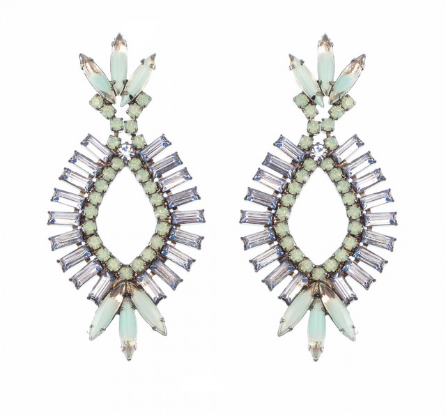 Navette Earrings by Elizabeth Cole