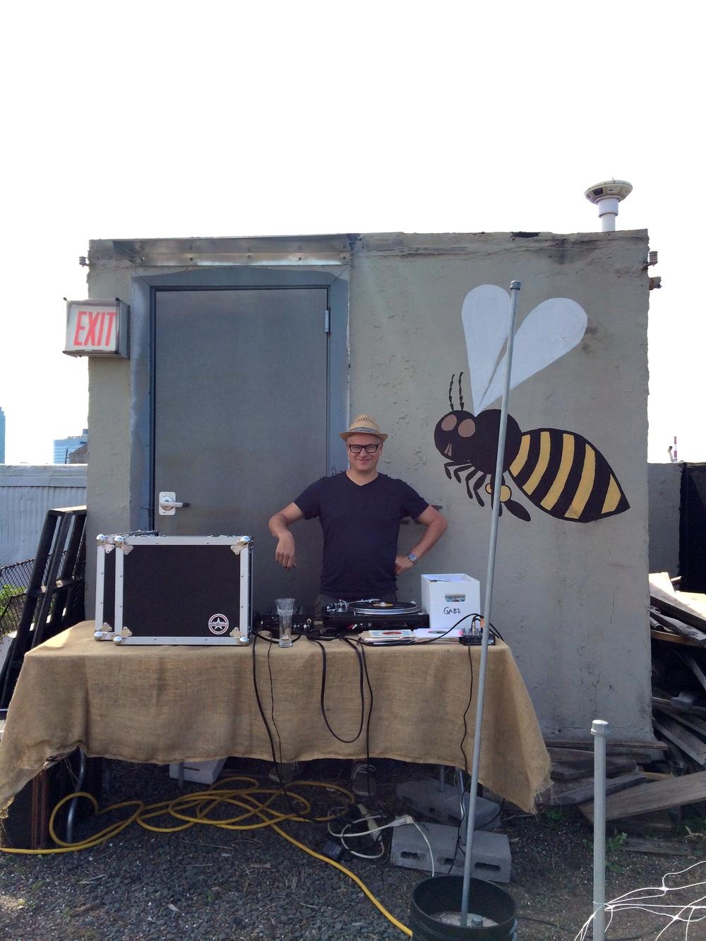 Brooklyn Grange Farm Butcher's Paper Dinners DJ