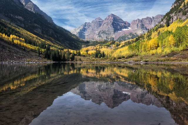 Maroon Bells — Photo by John Fowler