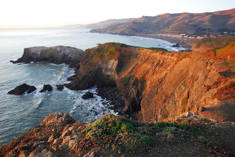 Near the Marin Headlands Hostel