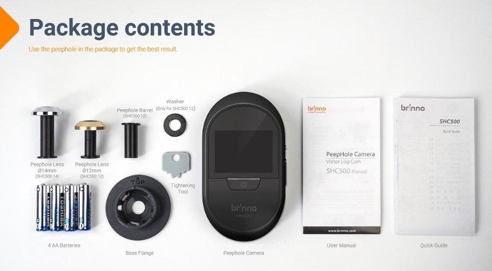 Brinno Peephole Camera - SHC 500 — Brinno USA