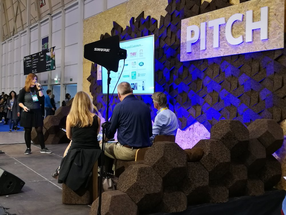 Pitch no Websummit 2016