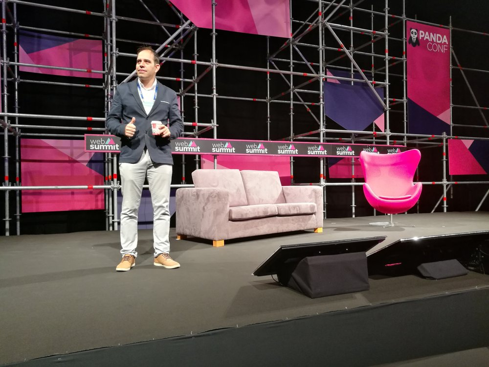 Jorge Cabaço no WebSummit 2016