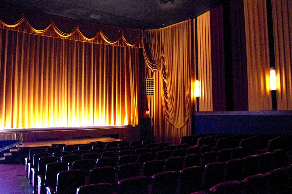 AUDITORIUM CURTAINS: AFTER