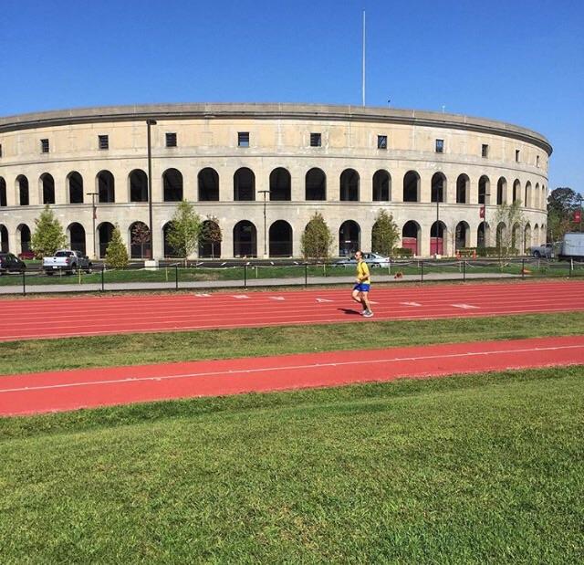 Harvard Stadium or the track.. You choose!