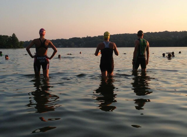 Mystic Lake: Perfect for a open water swim workout group!
