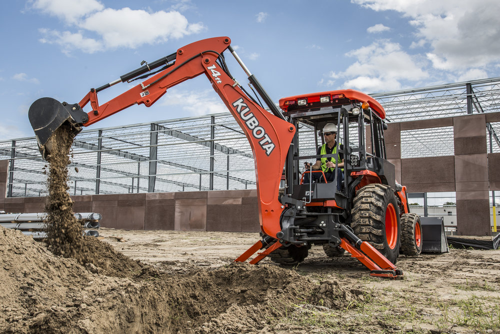 Excavation  From minor root removal to major excavation, we have appropriately sized equipment for an entire range of leach field repair. Our smallest, the Kubota B-26 is perfect for navigating around existing landscaping for even the tightest repairs.