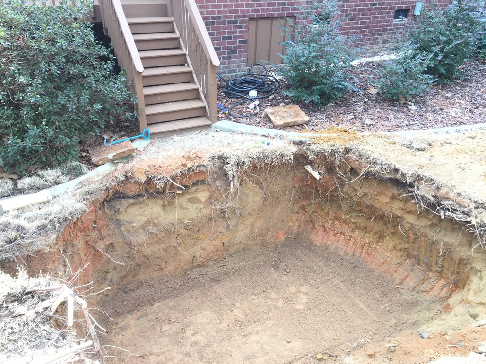 New Septic Tank Hole