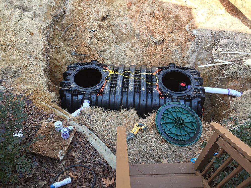 HDPE Plastic Septic Tank