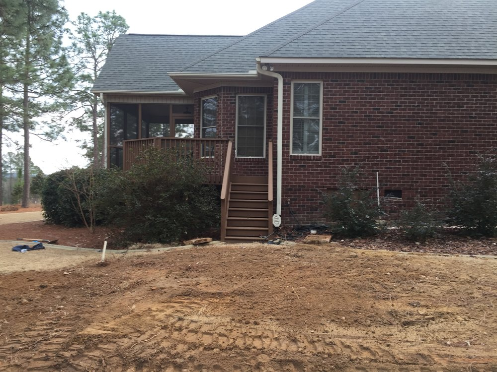 Post Septic Tank Replacement Landscaping 1