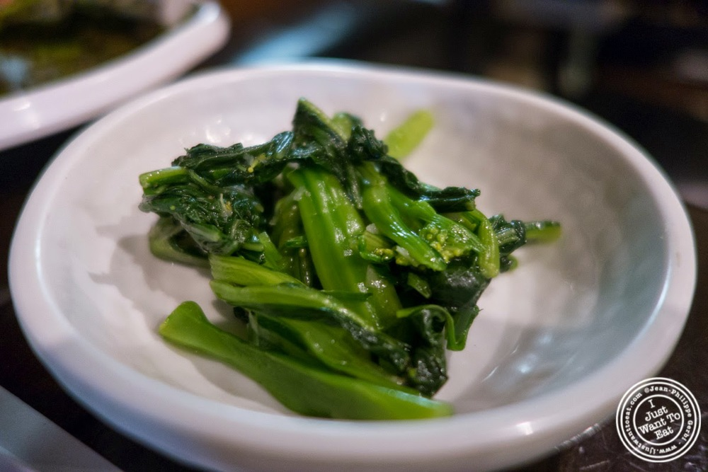 image of Bok Choi at Madangsui Korean BBQ in NYC, New York