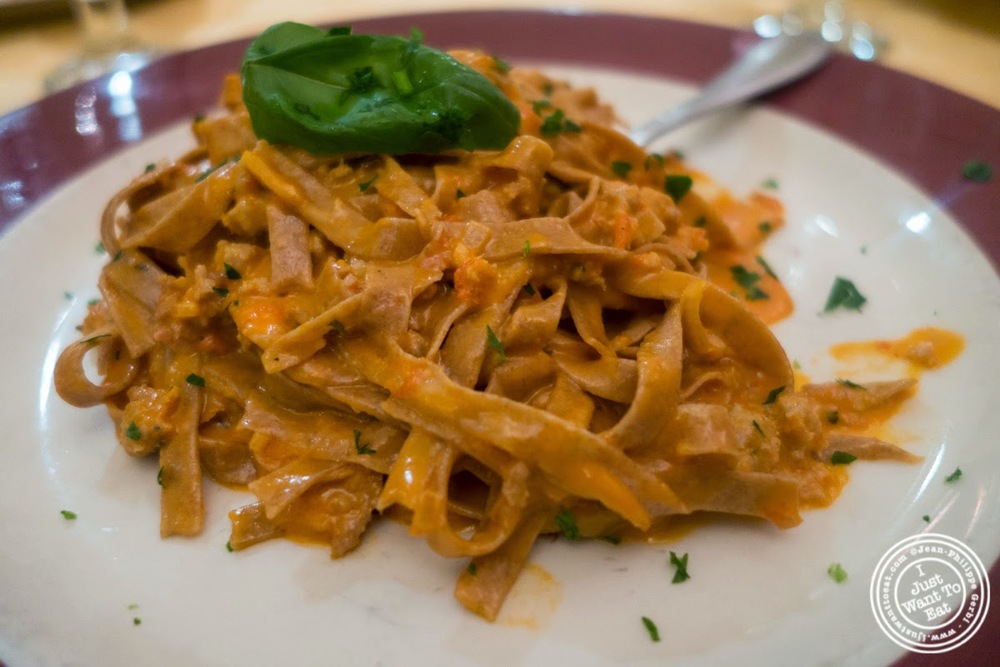 image of fettuccine at Bricco in Hell's Kitchen, NYC,NY