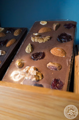 image of fruits and nuts bar at Chocolate Bar in NYC, New York