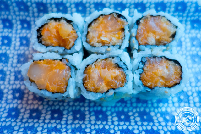 image of Spicy Scallop Roll at  Sushi Damo in NYC, New York