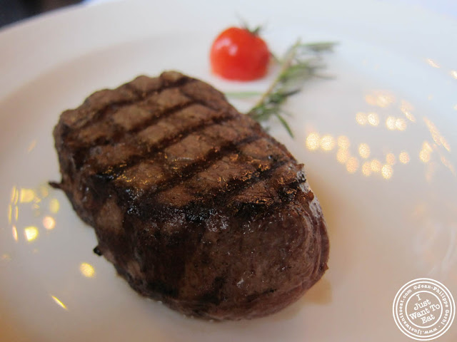 Image of Grilled filet of beef at Le Train Bleu in Gare de Lyon Paris, France