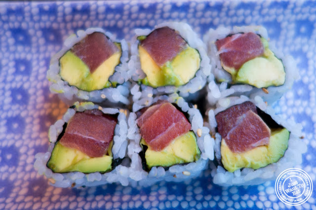 image of Tuna and avocado Roll at  Sushi Damo in NYC, New York