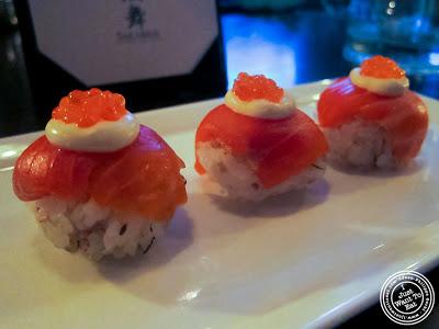 image of Temari sushi at SakaMai in NYC, New York