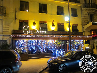 Image of the Entrance of Chez Bebert in Paris, France