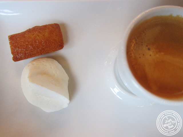 Image of Cafe gourmand at Le Train Bleu in Gare de Lyon Paris, France