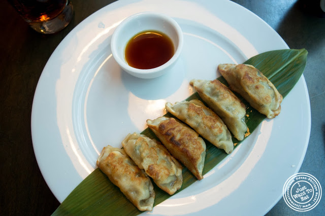 image of Pork gyoza at Sushi Damo in NYC, New York