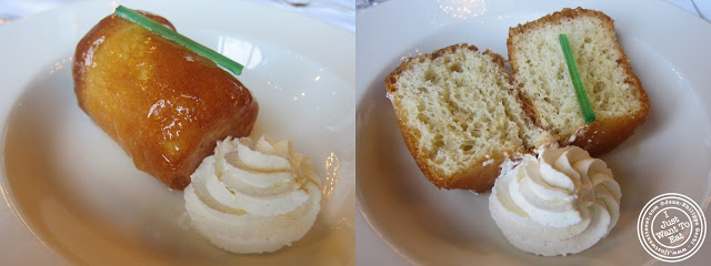 Image of Baba au rhum at Le Train Bleu in Gare de Lyon Paris, France