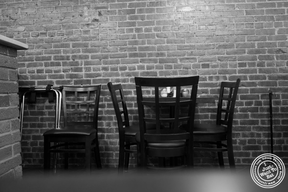 image of dining room from The Brick Pizzeria in Hoboken, NJ